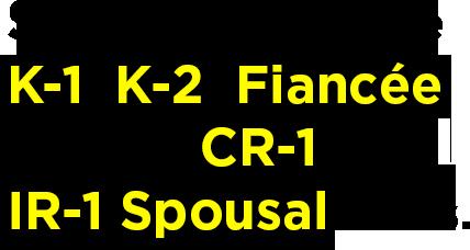 K-1 Fiancé Visa Services | IR-1/CR-1 Spousal Visa Specialists | SRRV